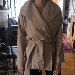 Forever 21 wrap coat